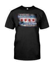 House Music Flag Classic T-Shirt thumbnail