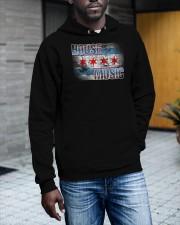 House Music Flag Hooded Sweatshirt apparel-hooded-sweatshirt-lifestyle-front-17