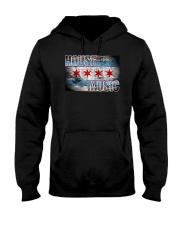 House Music Flag Hooded Sweatshirt front