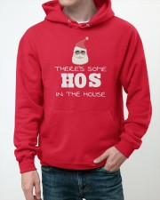 There's Some HOS In The House Hooded Sweatshirt apparel-hooded-sweatshirt-lifestyle-front-50