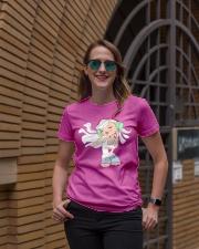 Let the music play Ladies T-Shirt lifestyle-women-crewneck-front-2