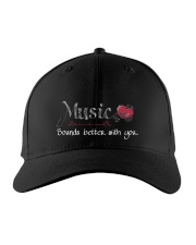 Music Sounds better with you Embroidered Hat thumbnail