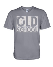 OLD SCHOOL V-Neck T-Shirt thumbnail
