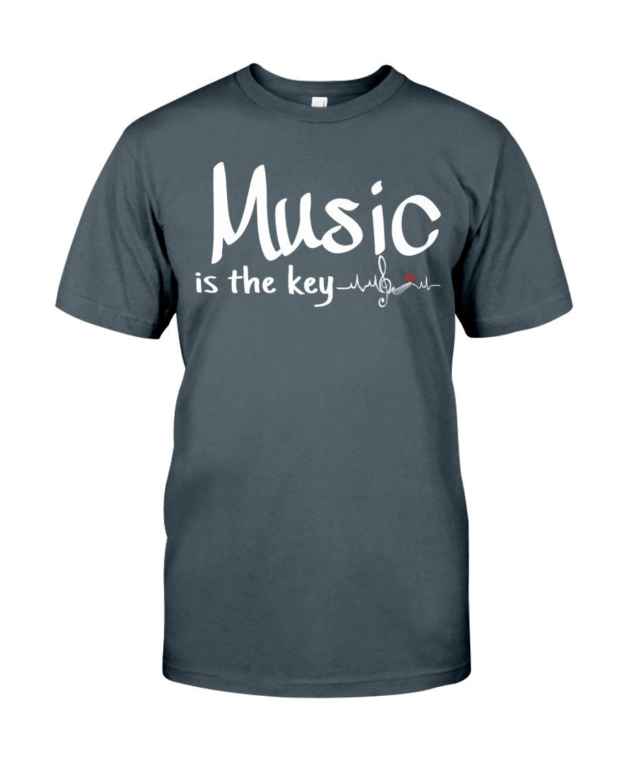 Music is the key Classic T-Shirt