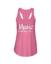 Music is the key Ladies Flowy Tank thumbnail