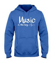 Music is the key Hooded Sweatshirt thumbnail