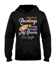 I paint my dreams Hooded Sweatshirt thumbnail
