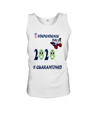 4 th july happy independence day  Unisex Tank thumbnail
