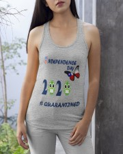 4 th july happy independence day  Ladies Flowy Tank apparel-ladies-flowy-tank-lifestyle-front-26