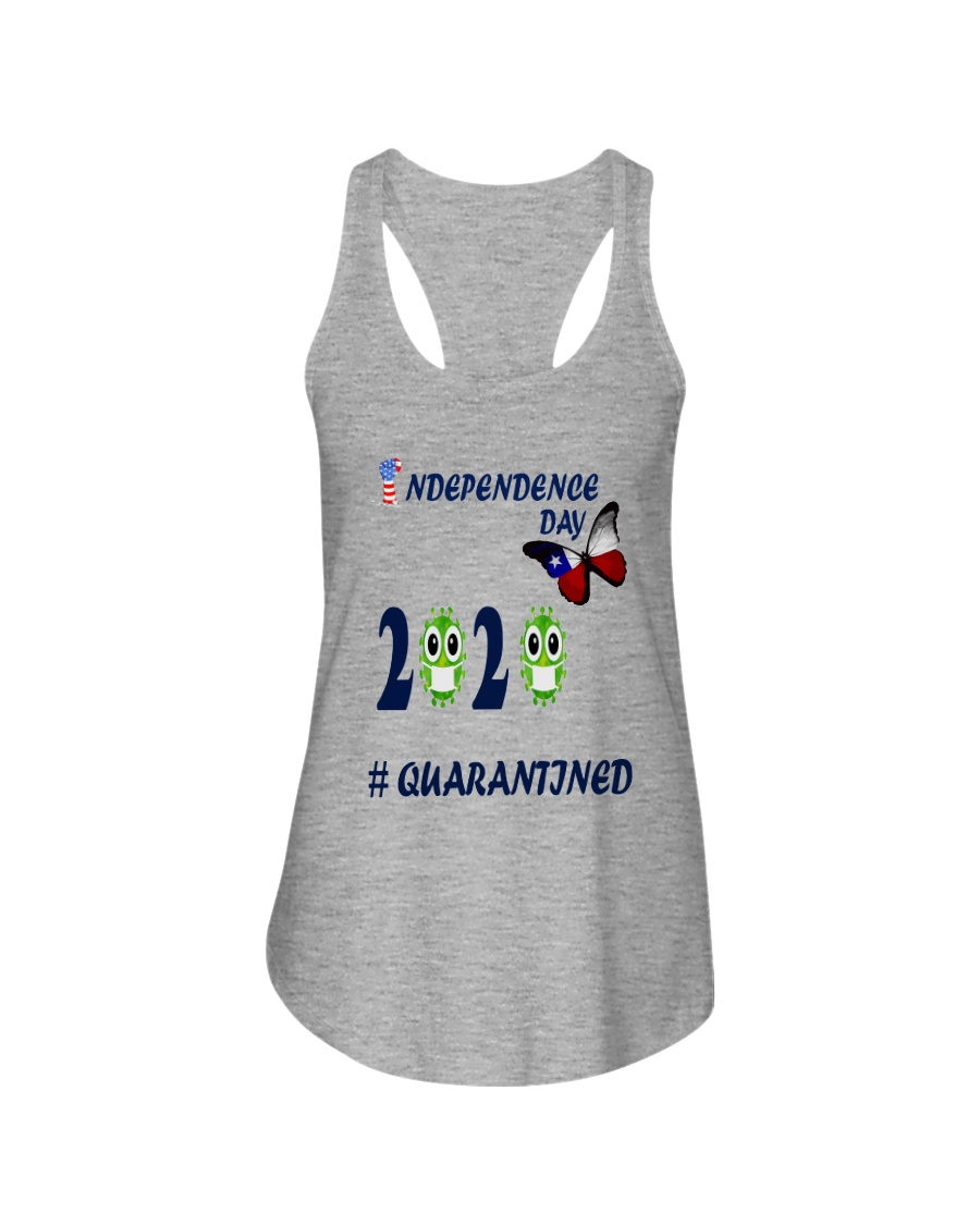 4 th july happy independence day  Ladies Flowy Tank