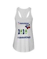 4 th july happy independence day  Ladies Flowy Tank thumbnail