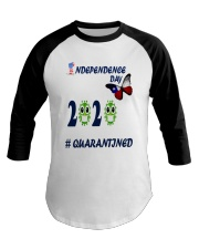 4 th july happy independence day  Baseball Tee thumbnail
