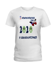 4 th july happy independence day  Ladies T-Shirt thumbnail