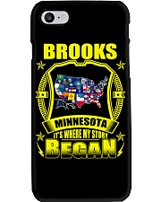 Brooks-MN American map Shirt Phone Case thumbnail