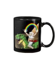 God Rides A T-Rex In Space Mug thumbnail