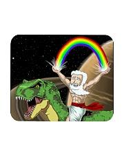 God Rides A T-Rex In Space Mousepad thumbnail