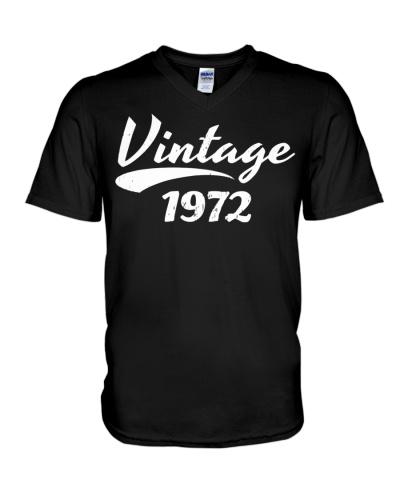 47TH BIRTHDAY T-SHIRT GIFT VINTAGE 1972 DESIGN