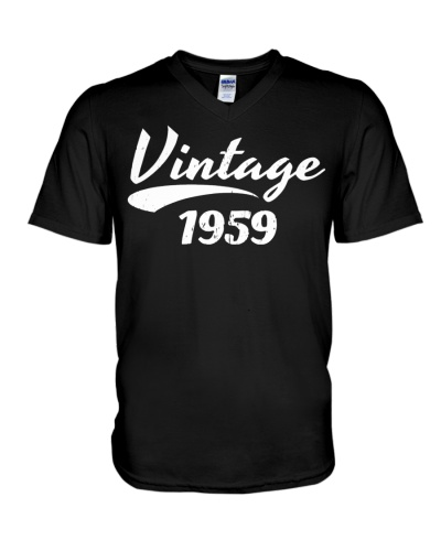60TH BIRTHDAY T-SHIRT GIFT VINTAGE 1959 DESIGN