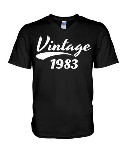 36TH BIRTHDAY T-SHIRT GIFT VINTAGE 1983 DESIGN