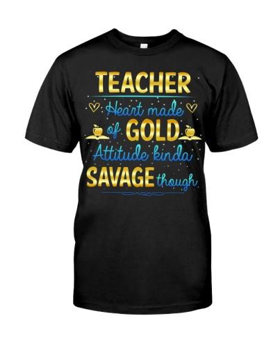 Teacher Heart Made Gold
