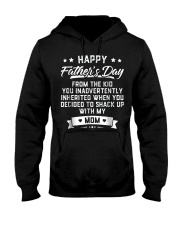 happy father s day from the kid you inadvertently  Hooded Sweatshirt thumbnail