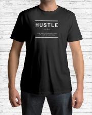 Hustle Verb Premium Fit Mens Tee lifestyle-mens-crewneck-front-1