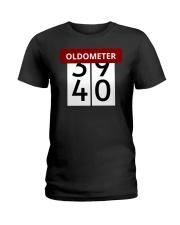 Oldometer 39-40 Ladies T-Shirt thumbnail