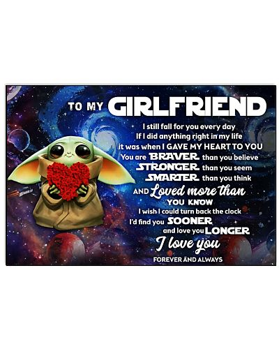 To my Girlfriend - I love you