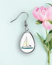 Yacht Earings Teardrop Earrings aos-earring-teardrop-front-lifestyle-8