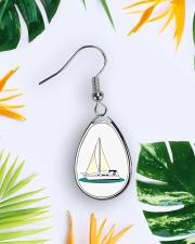 Yacht Earings Teardrop Earrings aos-earring-teardrop-front-lifestyle-9