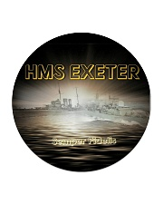 HMS EXETER Drink Coasters Circle Coaster thumbnail