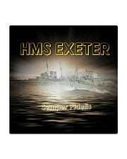 HMS EXETER Drink Coasters Square Coaster front
