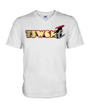 T3Wche' Unisex Designs V-Neck T-Shirt thumbnail