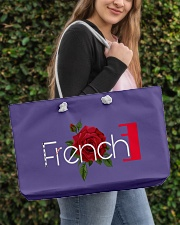 French3 Bag Weekender Tote aos-weekender-tote-24x13-lifestyle-front-04