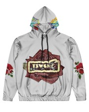 T3w Men's All Over Print Hoodie front