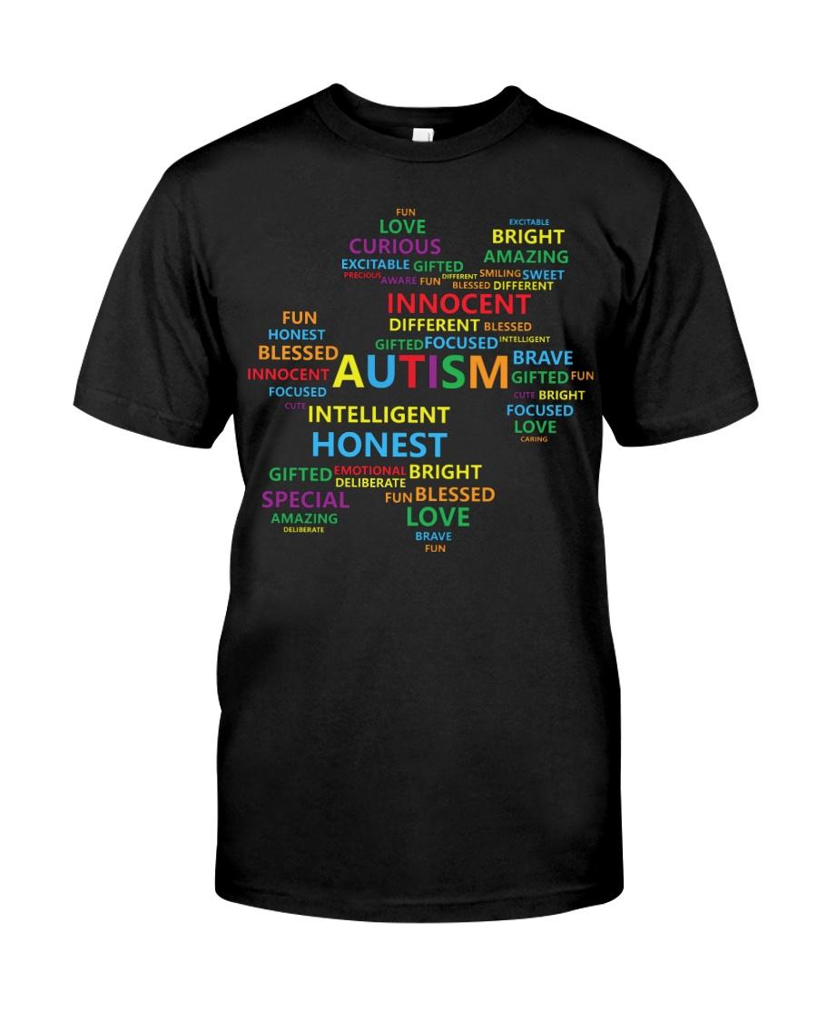 Puzzle piece autism Classic T-Shirt
