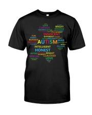 Puzzle piece autism Classic T-Shirt front