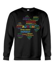 Puzzle piece autism Crewneck Sweatshirt thumbnail