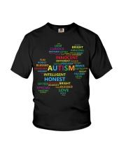 Puzzle piece autism Youth T-Shirt thumbnail