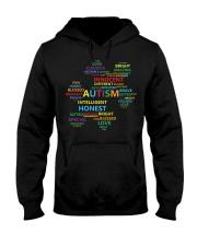 Puzzle piece autism Hooded Sweatshirt thumbnail
