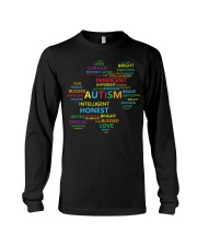 Puzzle piece autism Long Sleeve Tee thumbnail