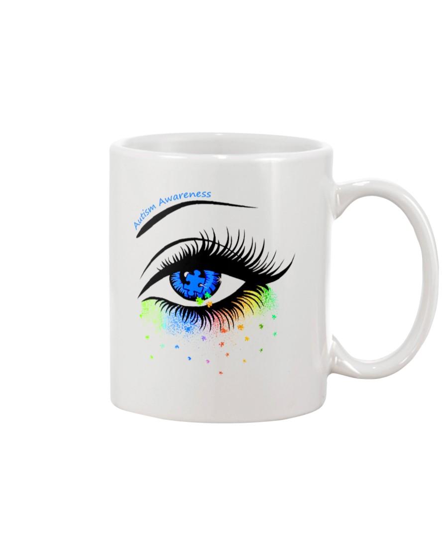 Autism awareness eye Mug