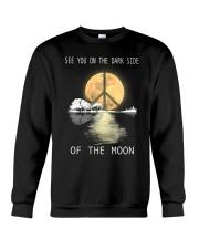 guitar moonight hippie Crewneck Sweatshirt thumbnail