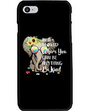 Elephant autism awareness be anything be kind Phone Case thumbnail