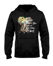 Elephant autism awareness be anything be kind Hooded Sweatshirt thumbnail