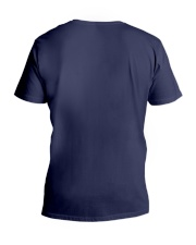 Elephant autism awareness be anything be kind V-Neck T-Shirt back