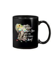 Elephant autism awareness be anything be kind Mug thumbnail
