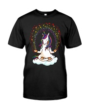 Yoga Unicorn Classic T-Shirt front