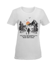 And Into The Forest I Go To Lose My Mind Ladies T-Shirt women-premium-crewneck-shirt-front