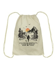 And Into The Forest I Go To Lose My Mind Drawstring Bag thumbnail